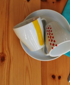 Grand Tour Cappucino Cups and Saucers