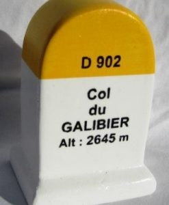 Col du Galibier KM Marker Model