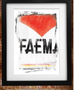 Faema Cycling poster