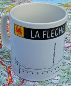 La Fleche Wallonne bike mug