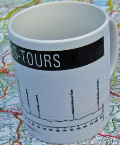 Paris - Tours Bike Mug