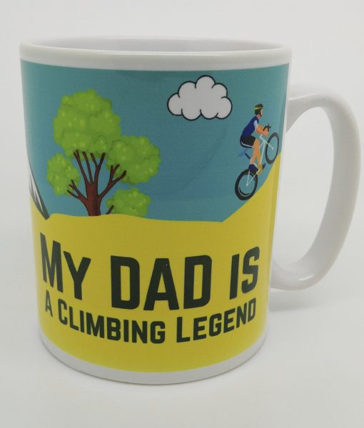Personalised Cycling Mug