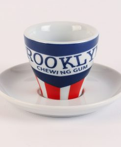 brooklyn chewing gum espresso cup