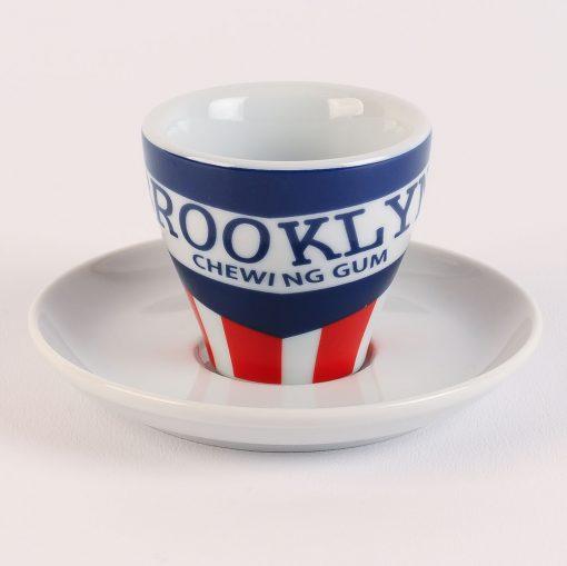 brooklyn chewing gum espresso cup