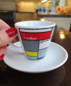 La Vie Claire espresso cup gif