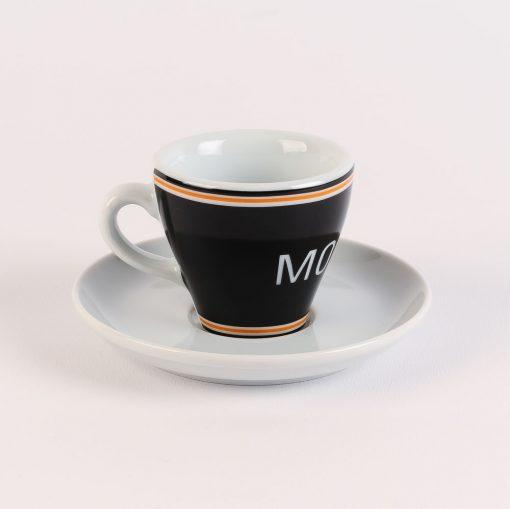 molteni black espresso cup
