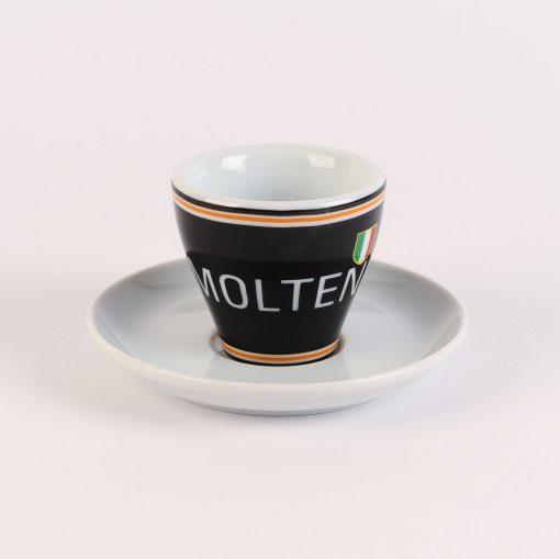 molteni arcore espresso cup with saucer
