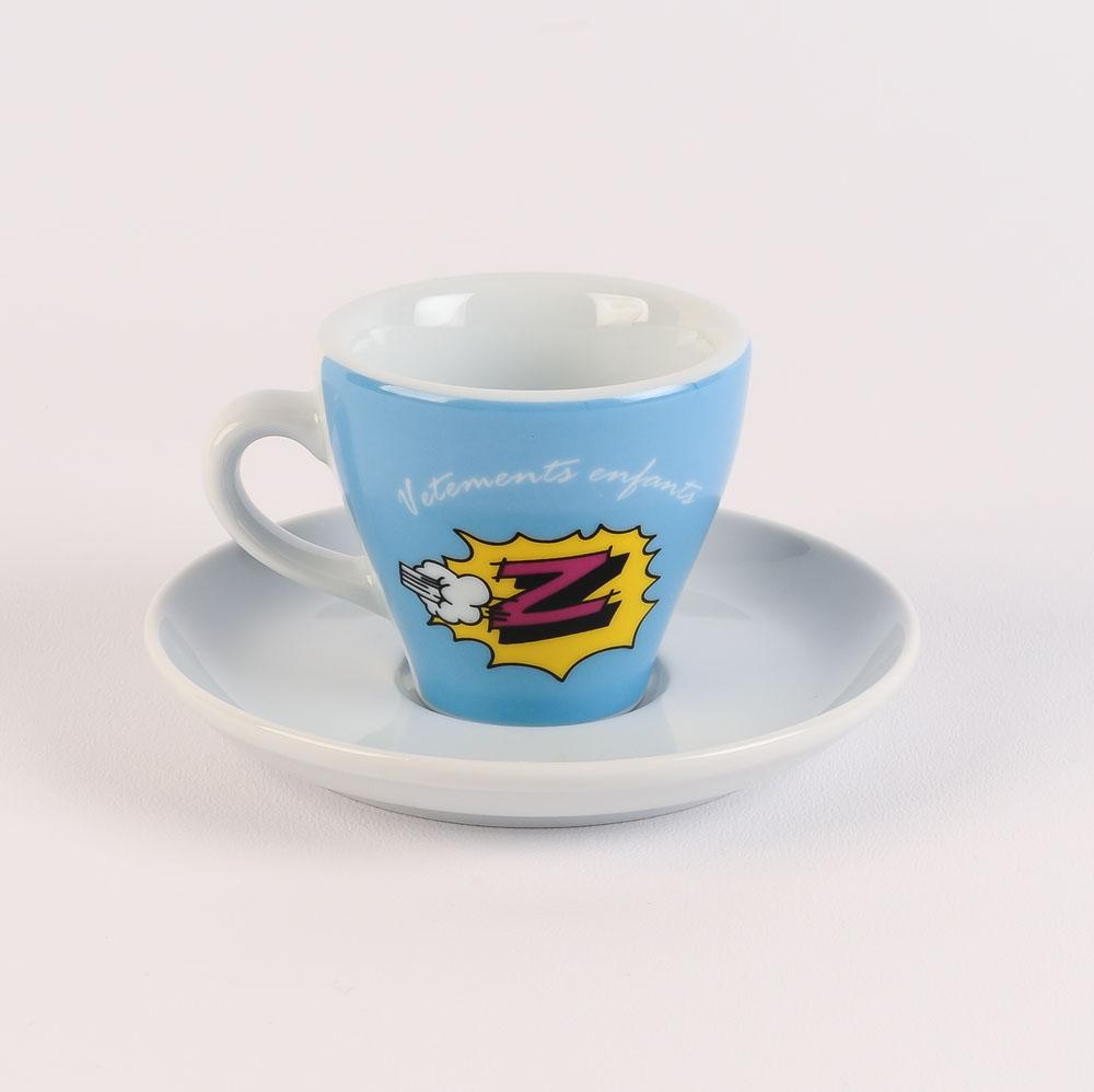 115a61258 Retro Cycling Team Espresso Cup   Saucer