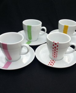 grand tour tasses de café ensemble