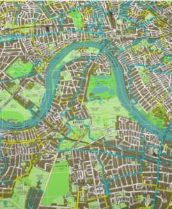 Mapa del ciclista de Londres v1