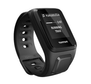 TomTom Watch Black   Cycling Gifts