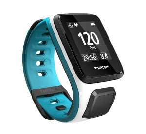 TomTom Watch in Blue and White   Cycling gifts