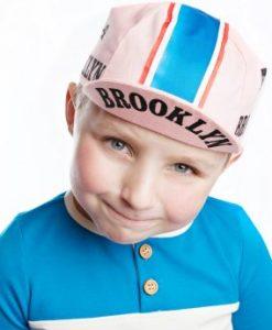 Brooklyn kids cycling cap
