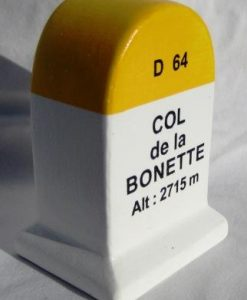Col de la Bonette KM Marker Model