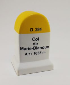 Col de la Marie Blanque Road Marker Model