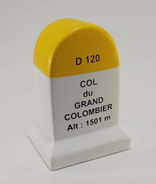 Col du Grand Colombier Road Marker Model