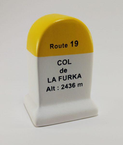 Furka Road Marker Model