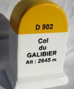 Col du Galibier km modèle de marqueur