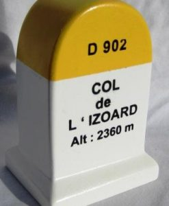 Modelo de marcador de columna d'Izoard km
