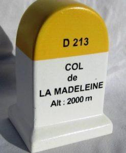 Columna de la Madeleine modelo del marcador del kilómetro
