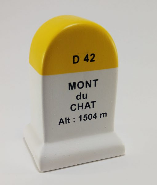 Mont du Chat Road Marker Model