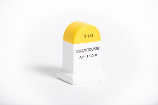 chamrousse road marker