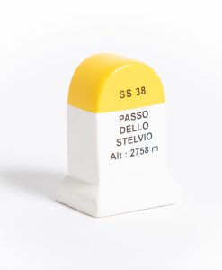 passo dello stelvio road marker model