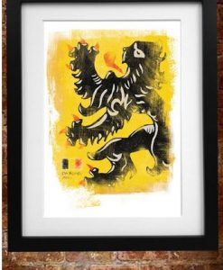 Flanders Flag Print