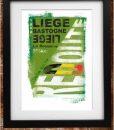 Liege Bastogne Liege Print