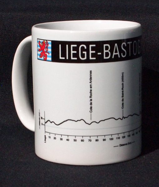 Liege-Bastogne-Liege Bike Mug