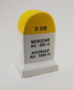 Morzine Avoriaz Road Marker Model