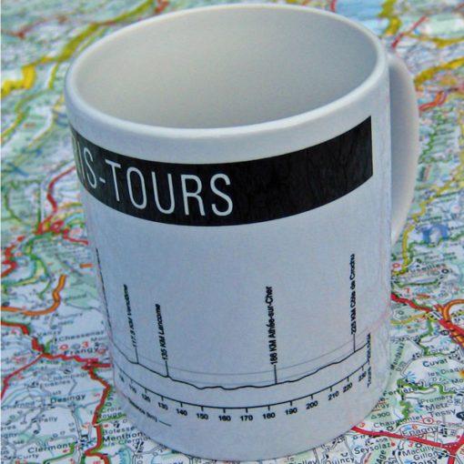 Paris - Tours Bike Mug