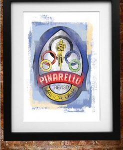 Retro Pinarello Print