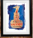 Retro Raleigh Print