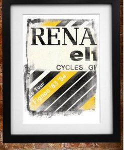 Renault Cycling Poster