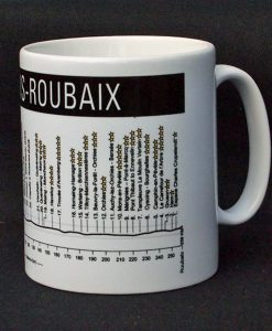 Paris Roubaix Cycle Mug