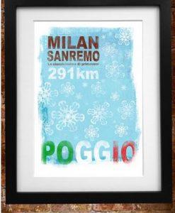 Milan San Remo Print