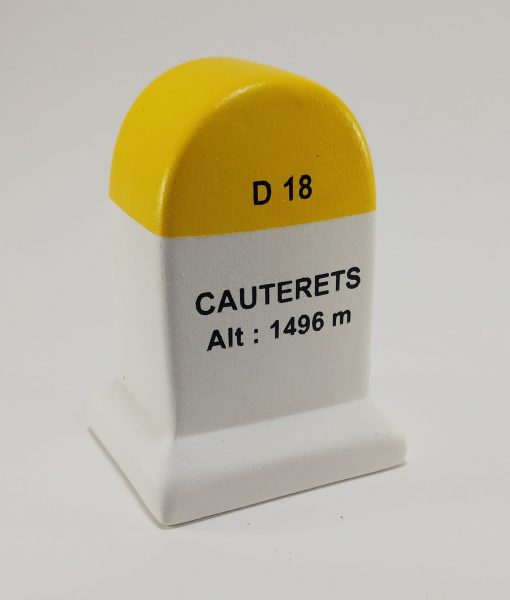 Cauterets Road Marker Model