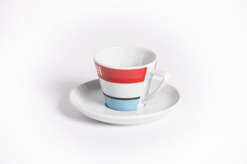 retro cycling espresso cup