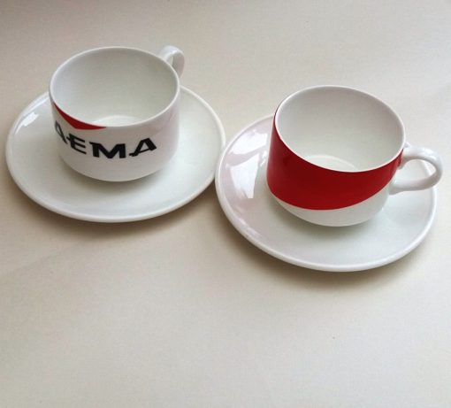 faema bone china cups