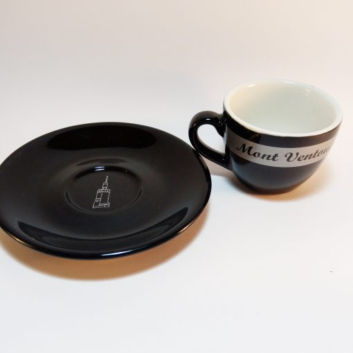 Mont Ventoux Espresso Cup and Saucer