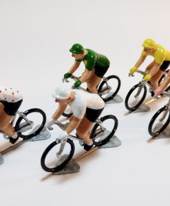 Tour de France miniature cyclists