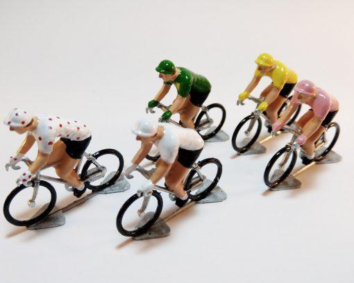 Tour de France miniature cyclists
