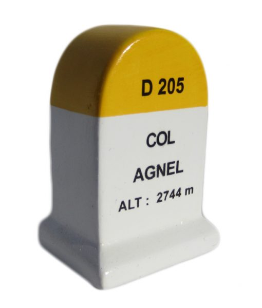 Col Agnel Road Marker Model