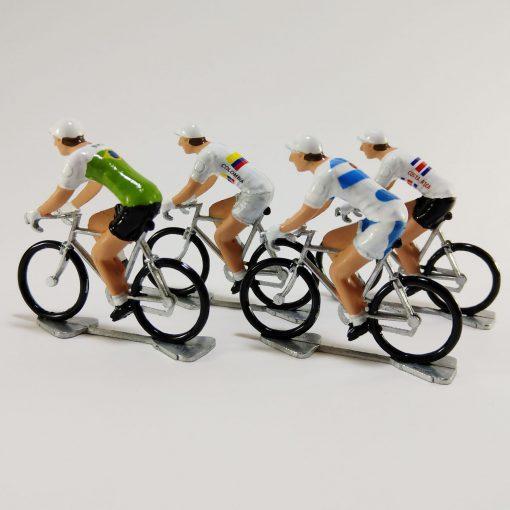 Latin America Cyclist Models Group 1