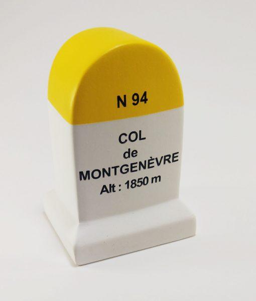 Col de Montgenevre Road Marker Model