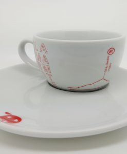 Marmotte Cappuccino Cup and Saucer