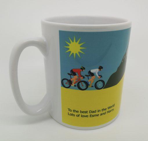 Personalised Cycling Mug 2