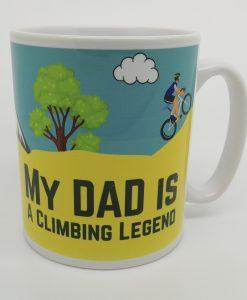 Personalised Cycling Mug