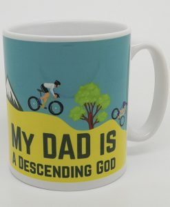 Personalised Biking Mug
